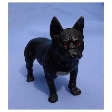 "Antique French bulldog Heyde Germany 5"""