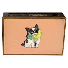 French Bulldog match box holder Germany