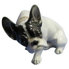 French Bulldog Rosenthal 1930s Germany Diller dog