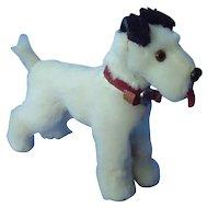 antique fur Fox terrier Fripon salon dog French fashion doll Germany label