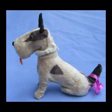 "Fripon Fox terrier salon dog BLEUETTE French fashion doll companion 4"""