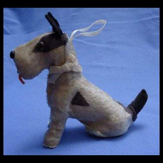 Fripon Fox terrier salon dog Kestner Bru French fashion doll companion