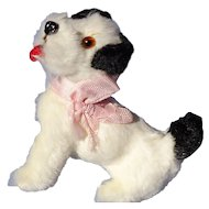 antique Fripon Fox terrier salon dog Germany French fashion doll label