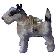 antique Fripon Fox terrier salon dog French fashion doll Germany 2""