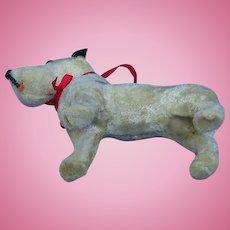 "Fripon Fox terrier salon dog French fashion doll companion 4"""
