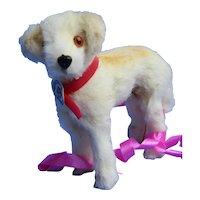 """fur retriever salon dog Germany Bru Kestner Jumeau French fashion doll companion 3"""""""