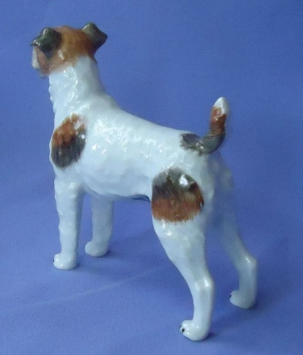 Fox terrier Jack Russell Dresden Germany : Morning Line Antiques ...