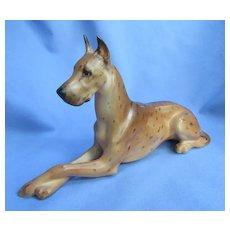 "10"" brindle Great Dane Boehm dog 1950s limited edition"