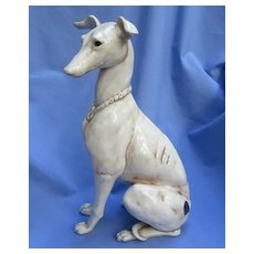 "Whippet  Italian Greyhound Kay Finch dog 14"""