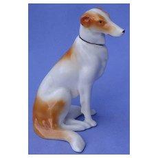 1940s BORZOI Gotha Pfeffer red white dog Germany