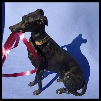 "8"" Whippet Italian Greyhound Heyde Germany dog"