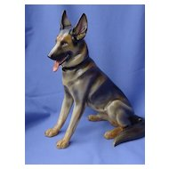 rare German Shepherd Gotha Pfeffer Germany 12""