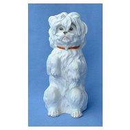 old Heubach Germany bisque Maltese Havanese  Silky Terrier