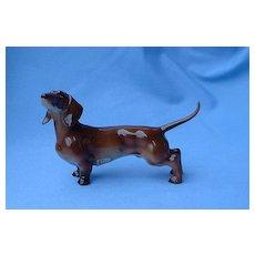 "1940s  Dachshund Hutschenreuther Germany 5"" dog"