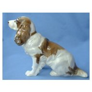 1950s English Brittany setter spaniel Hutschenreuther Germany 9""