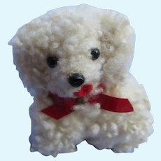 curly fur Havanese Maltese salon dog French fashion doll Germany