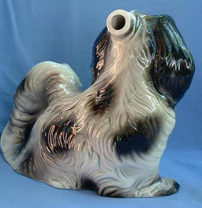10 Japanese Chin Shih Tzu Decanter Italy Morning Line Antiques