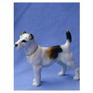 1950s Hutschenreuther Germany Fox terrier  6""