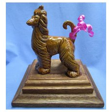 Kay Finch afghan hound dog