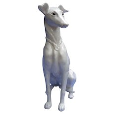 "14"" Kay Finch Whippet Italian greyhound 1950s dog"