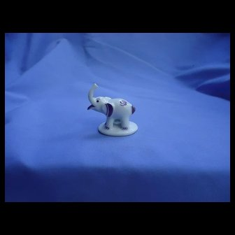 MO circus elephant Metzler Ortloff Germany BOSSE place card holder
