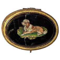 LOWCHEN micro mosaic dog jewelry box Valentine's day sale