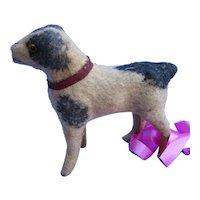 Antique PUG putz salon dog Kestner Jumeau French fashion doll companion Germany black