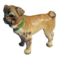 bronze Pug Vienna Austria doll house mini dog