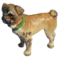 bronze Pug Vienna Austria doll house mini dog