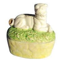 Pug Victorian trinket box