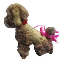 "Poodle salon dog BRU Kestner Bleuette French fashion doll companion Germany 4"""