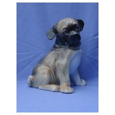"1950s  Pug puppy Ens Germany 9"" dog"