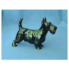 "Royal Doulton Scottish terrier black Scotty dog  5"""
