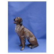 1930s Rosenthal Irish setter retriever dog  Germany 7""