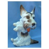 "1930 Rosenthal 7"" Scottish terrier  Scotty dog Germany"