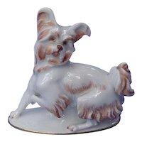 1930 Papillon Skye Silky terrier Rosenthal dog