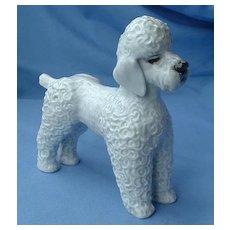 "1950s Rosenthal grey Poodle  Germany 7"""