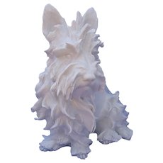 1930s Scottish West Highland terrier Guido Cacciapuoti Italy 11""