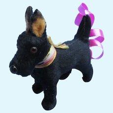 "antique Scottish terrier Scotty Fripon salon dog Bru Jumeau French fashion doll companion Germany label 2"""