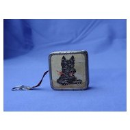 1940s Germany  Scottish terrier Scotty  dog sewing tape measure BR Zone