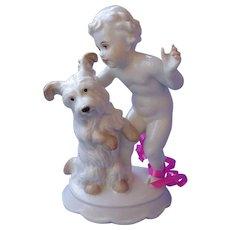 "Rosenthal Skye Silky Yorkshire Papillon terrier Briard dog Germany 6"""