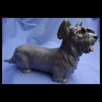 "10"" Skye Silky terrier Bing Grondahl Denmark dog"