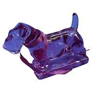 1993 Sealyham Cesky terrier Lavender Ice Heisey L/E dog