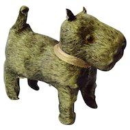 "Scotty dog squeaker toy French fashion doll Germany 5"""