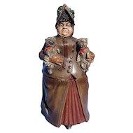 Queen Victoria pugs JM tobacco jar