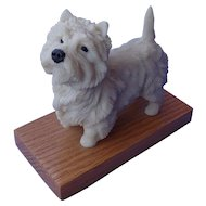 West Highland terrier Ralph Massey LE28/150