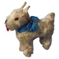 antique Scotty salon dog Scottish Terrier  Germany  French fashion doll label