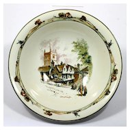 Ridgeways Coaching Days Porcelain Bowl Old Marlborough Antique English Scene