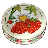 Strawberry Shortcake Vintage Decorative Tin Valleybrook Farms
