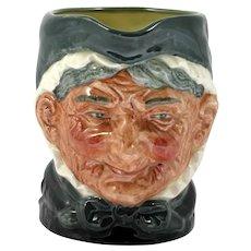 Royal Doulton Toby Jug Granny Vintage Porcelain Character Mug English